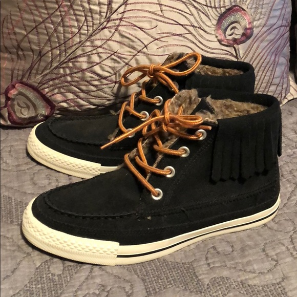 ea85c7a6b0cbb8 Converse Shoes - Chuck Taylor All Star Moccasin Fringe Boot